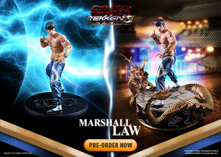 Marshall Law - Tekken 5 DR