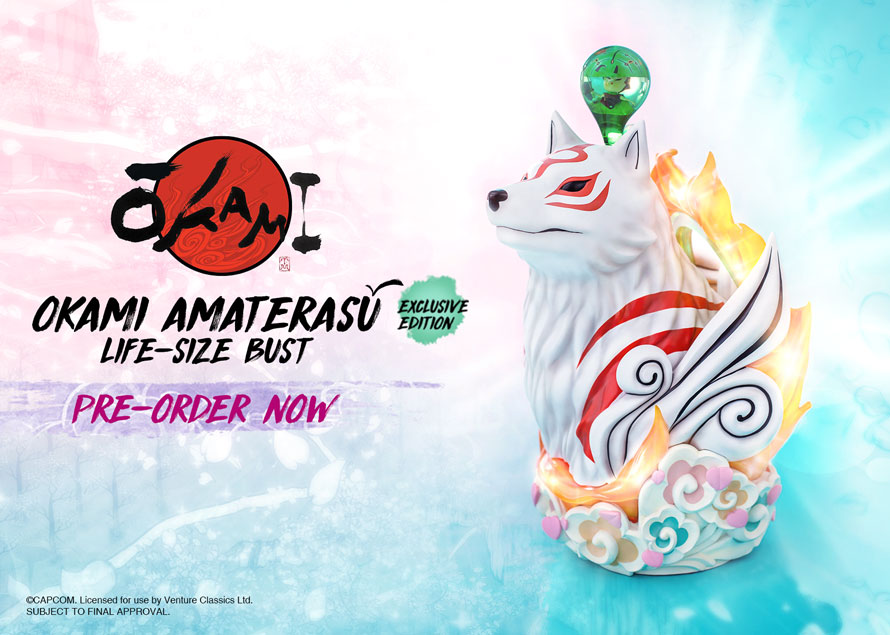 Amaterasu Life Size Bust Exclusive
