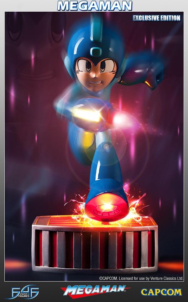 Running Megaman Exclusive