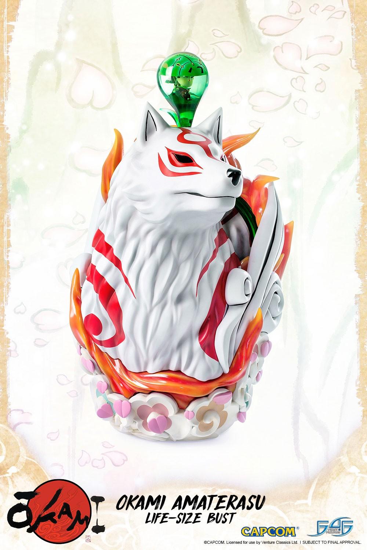 Amaterasu Life Size Bust (Regular)