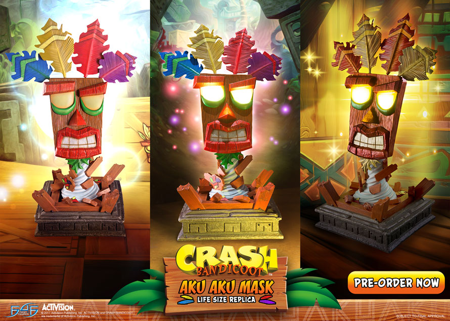 Crash Bandicoot Aku Aku Mask