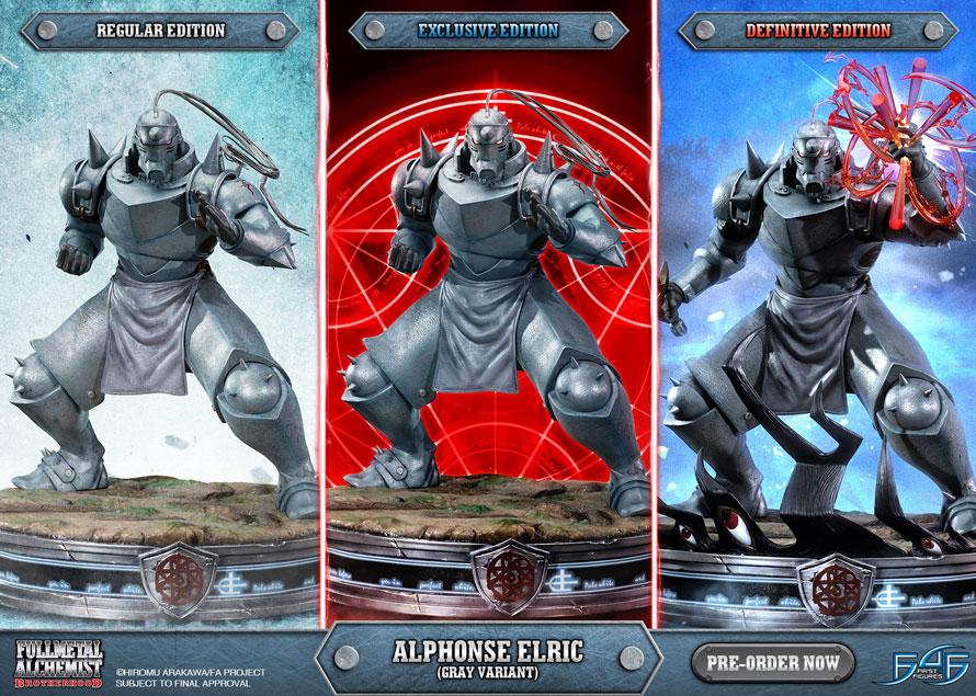 Alphonse Elric (Gray Variant)