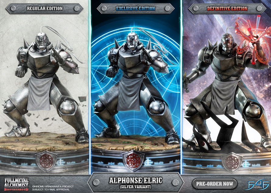 Alphonse Elric (Silver Variant)