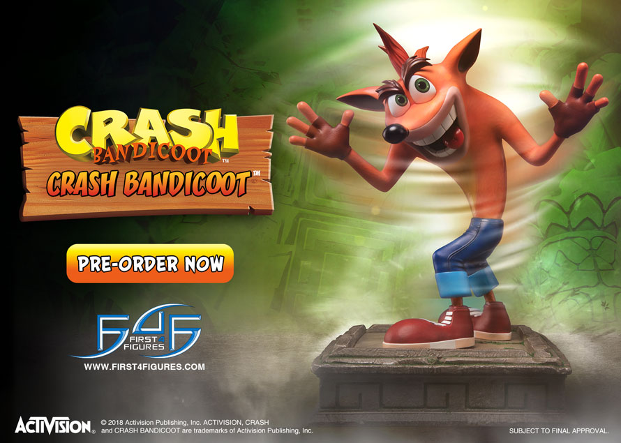 Crash Bandicoot Regular