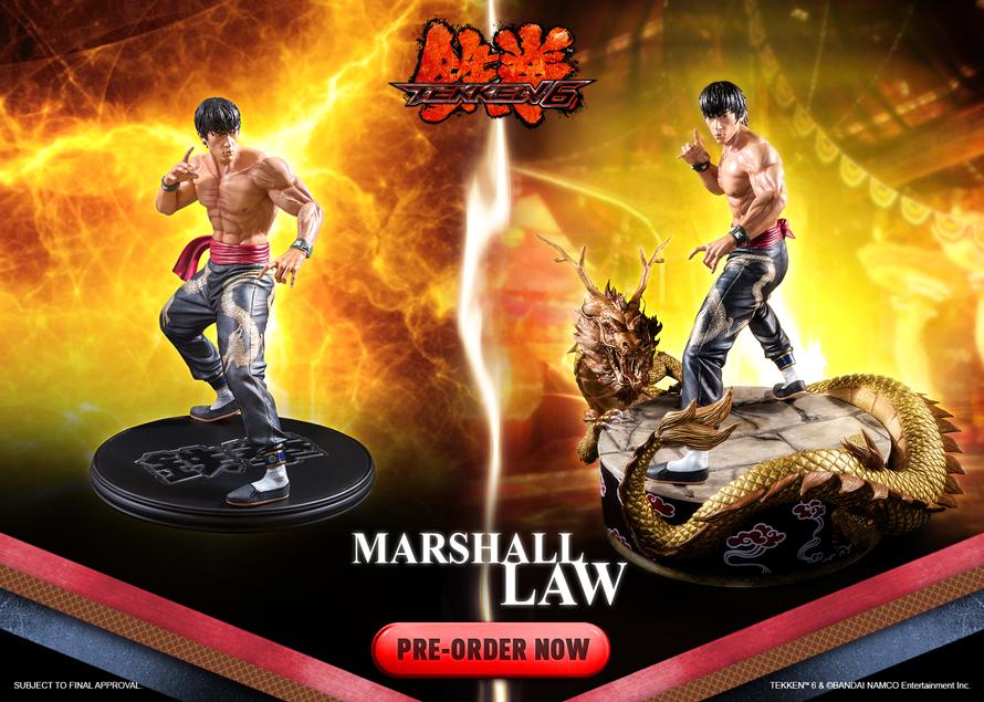 Marshall Law - Tekken 6