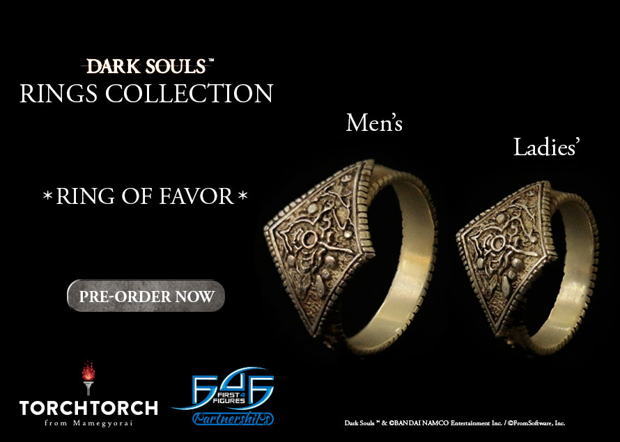 Torch Torch Dark Souls Ring of Favor
