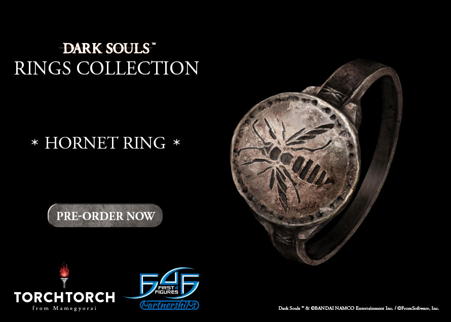Torch Torch Dark Souls Hornet Ring