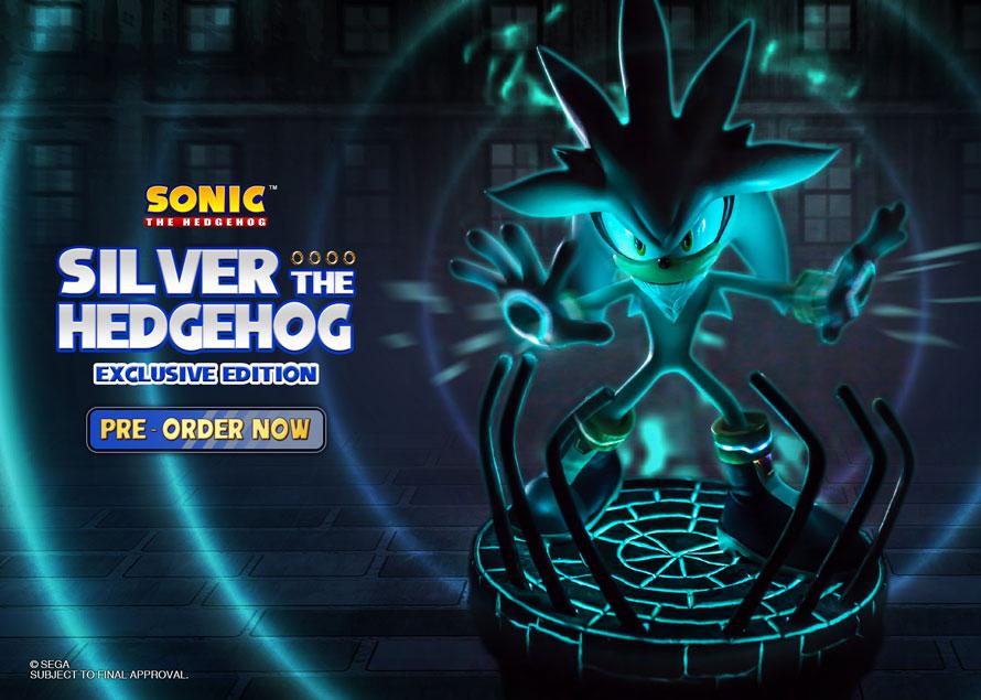 Silver the Hedgehog Exclusive
