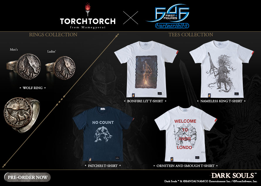 Torch Torch Dark Souls Rings and Tees