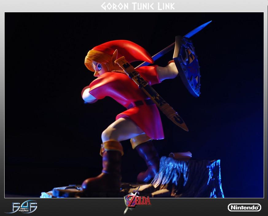 Kid Link Ocarina Of Time Goron Tunic Link