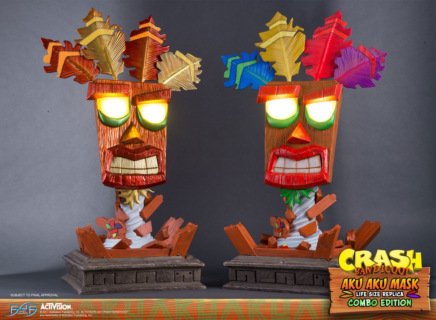 Aku Aku Mask Combo Edition