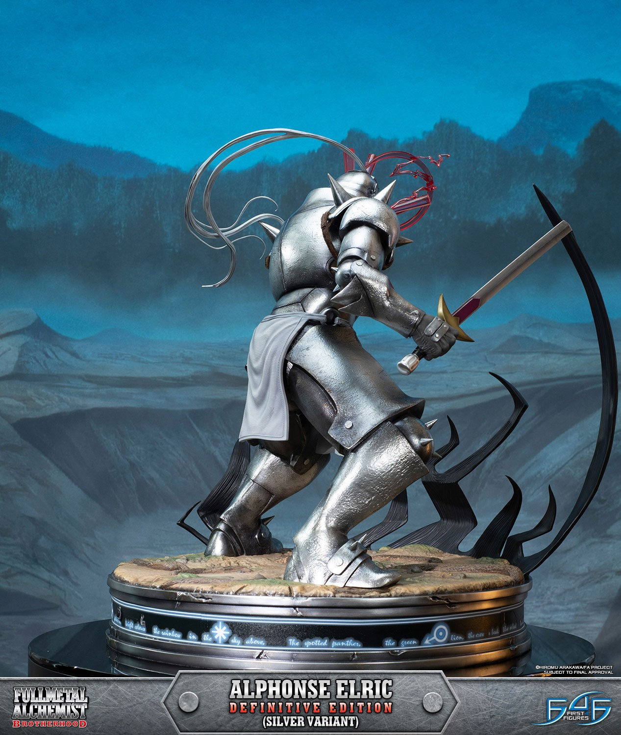 Alphonse Elric Definitive Edition (Silver Variant ...
