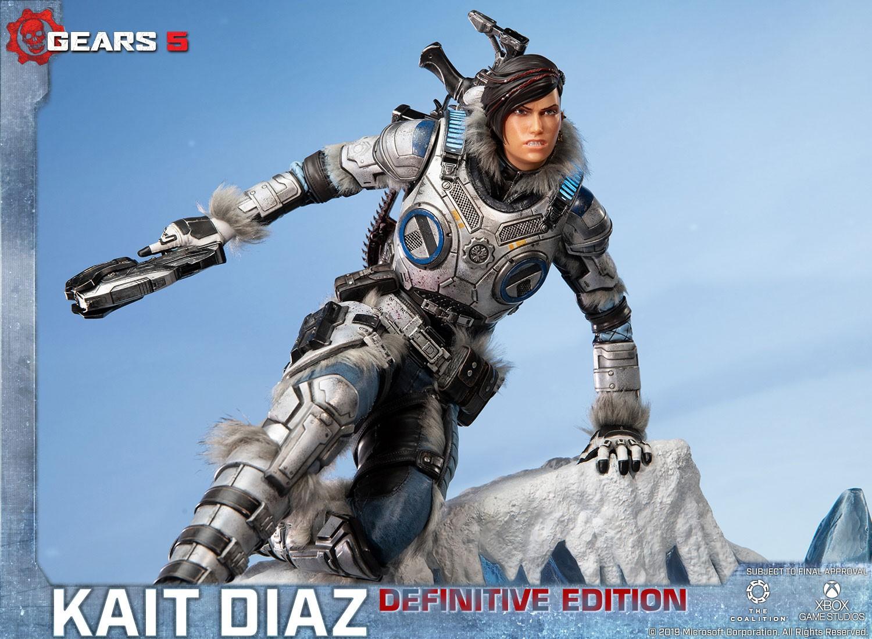 First 4 Figures presenta la espectacular figura de Kait Diaz, con licencia oficial de Gears 5