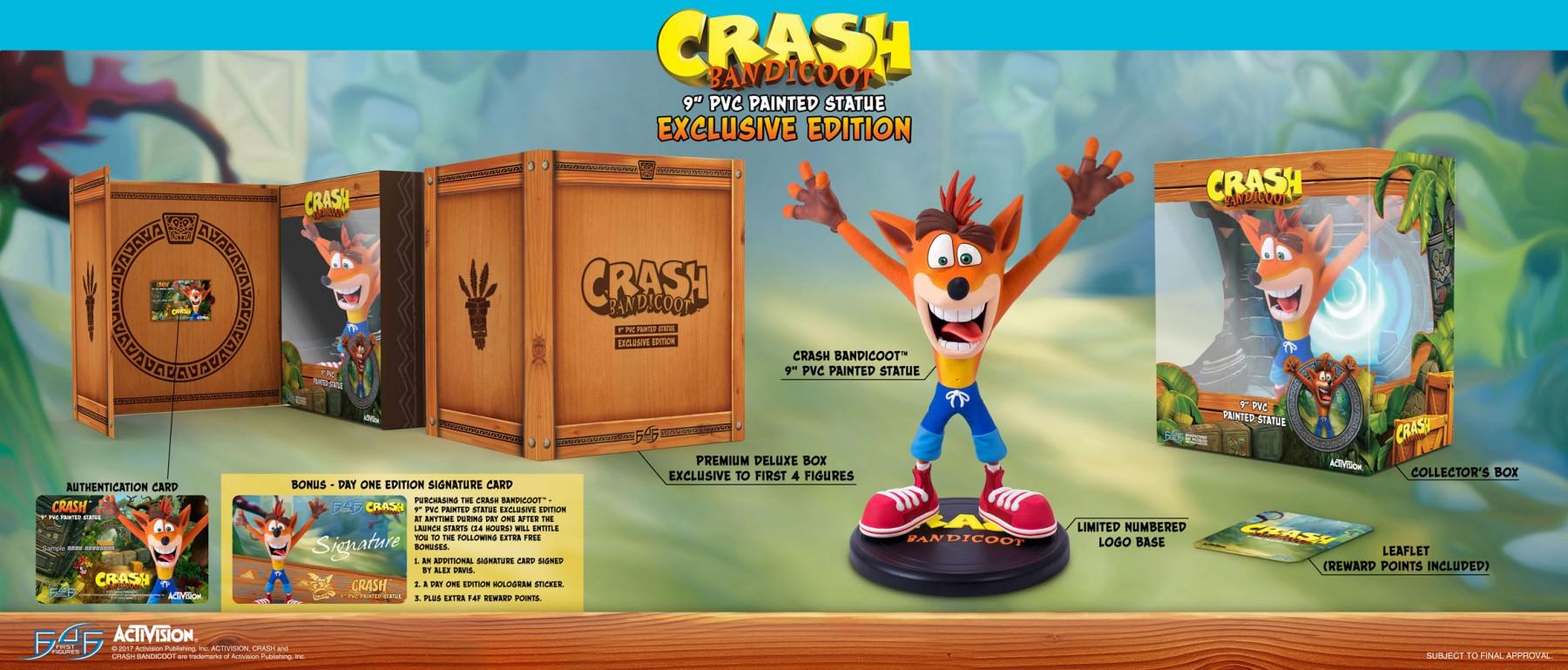 crash bandicoot exclusive