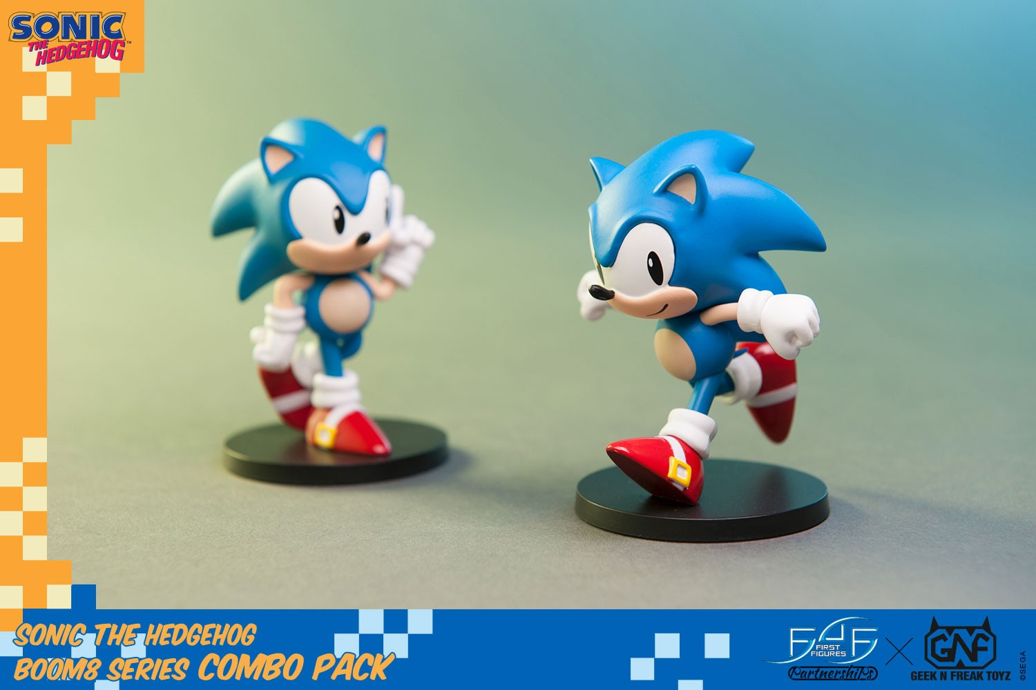 Sonic The Hedgehog Boom8 Series Combo Pack