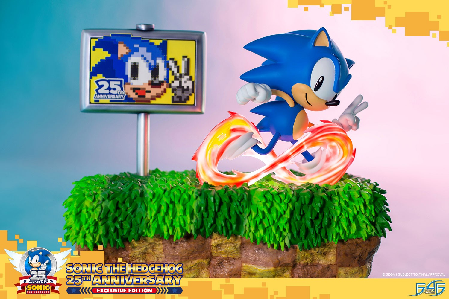 sonic the hedgehog 25th anniversary exclusive