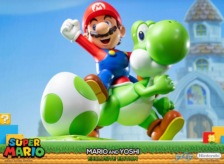 super mario  mario and yoshi exclusive edition