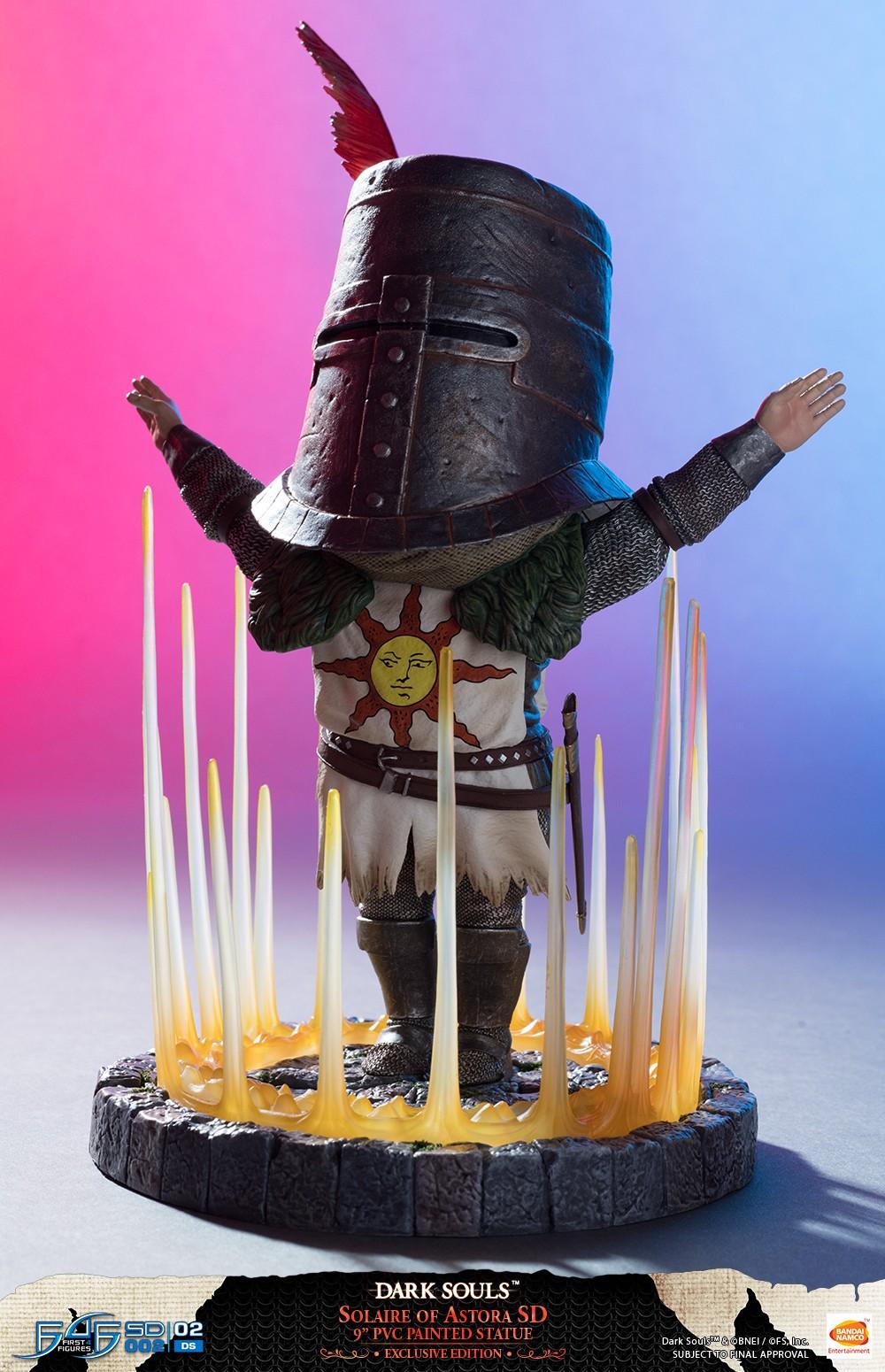 First 4 Figures Dark Souls-Solar De Astora 9 in PVC Statue peinte environ 22.86 cm