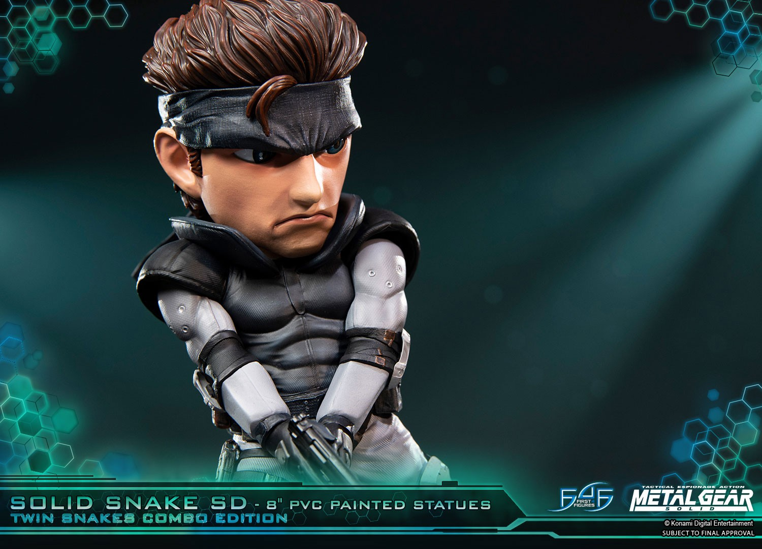 Solid Snake SD Twin Snakes Combo Edition - PVC - Products