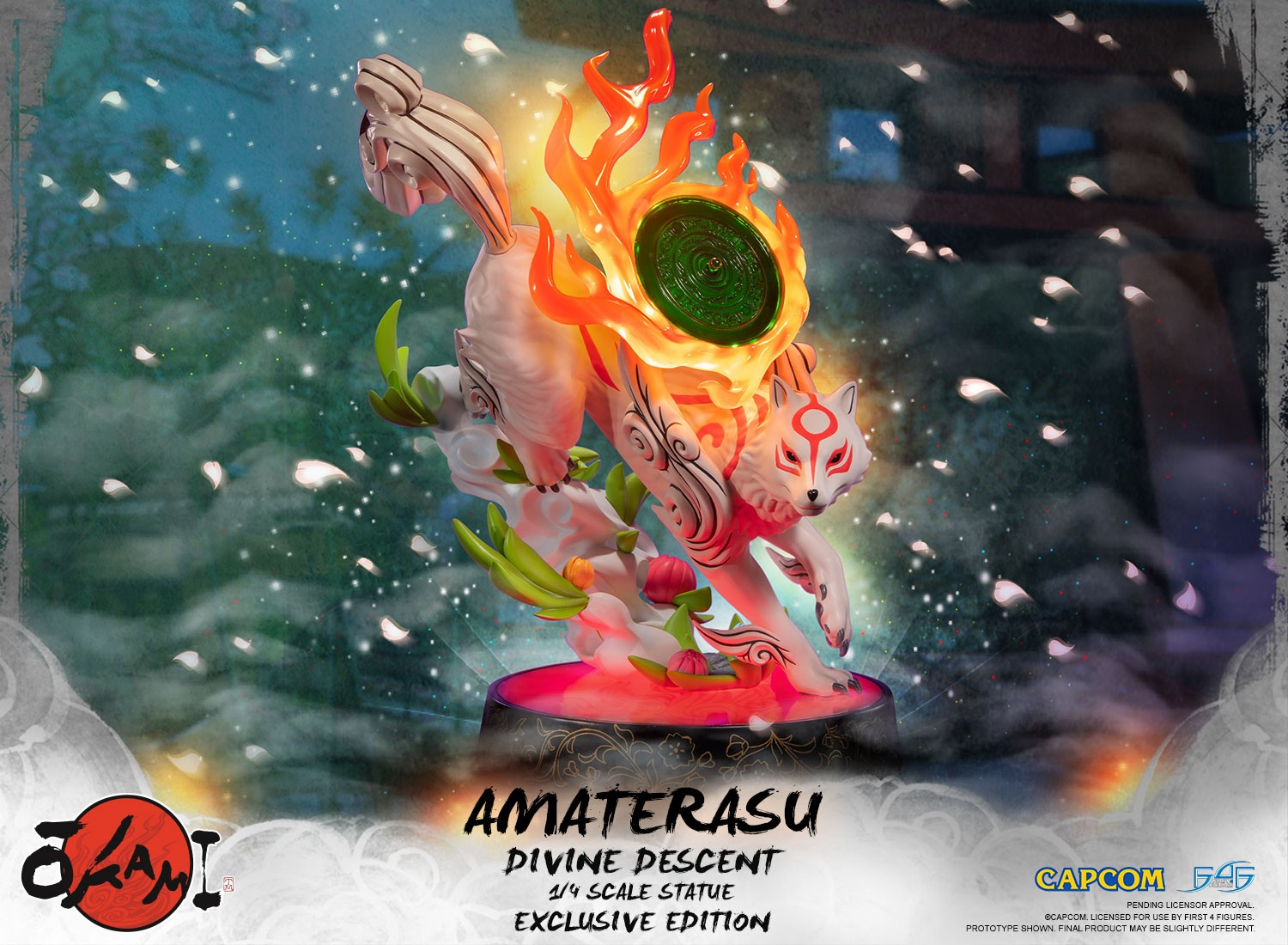 Okami - Amaterasu: Divine Descent (Exclusive Edition)