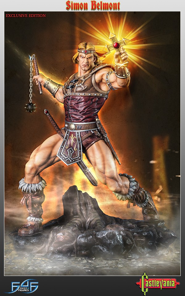 Simon Belmont Exclusive
