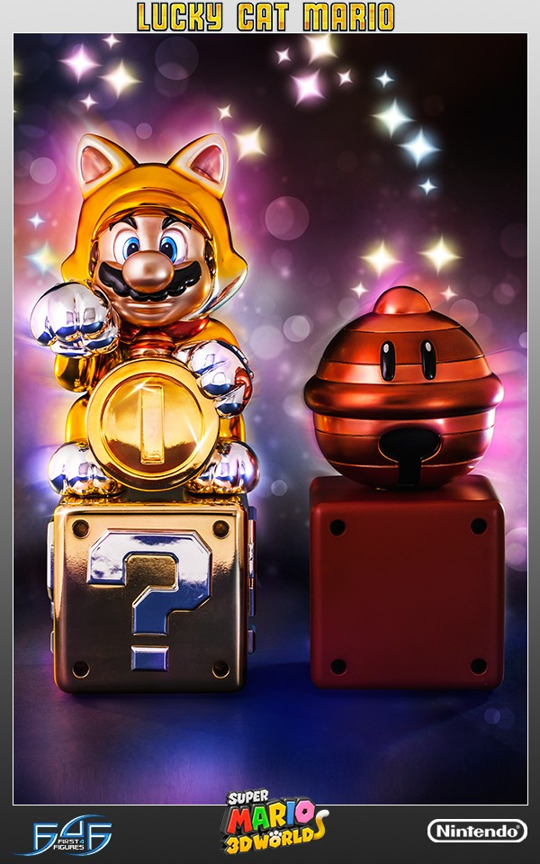 Lucky Cat Mario Exclusive