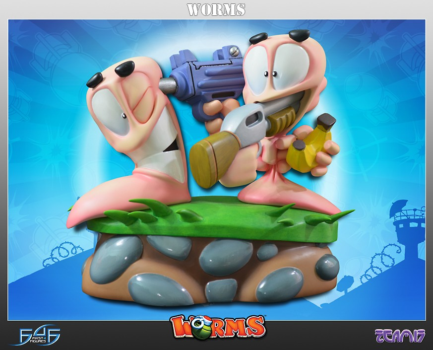 Worms 2: Armageddon Diorama Exclusive