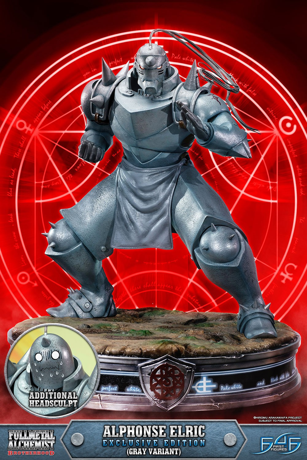Alphonse Elric Exclusive Edition (Gray Variant)