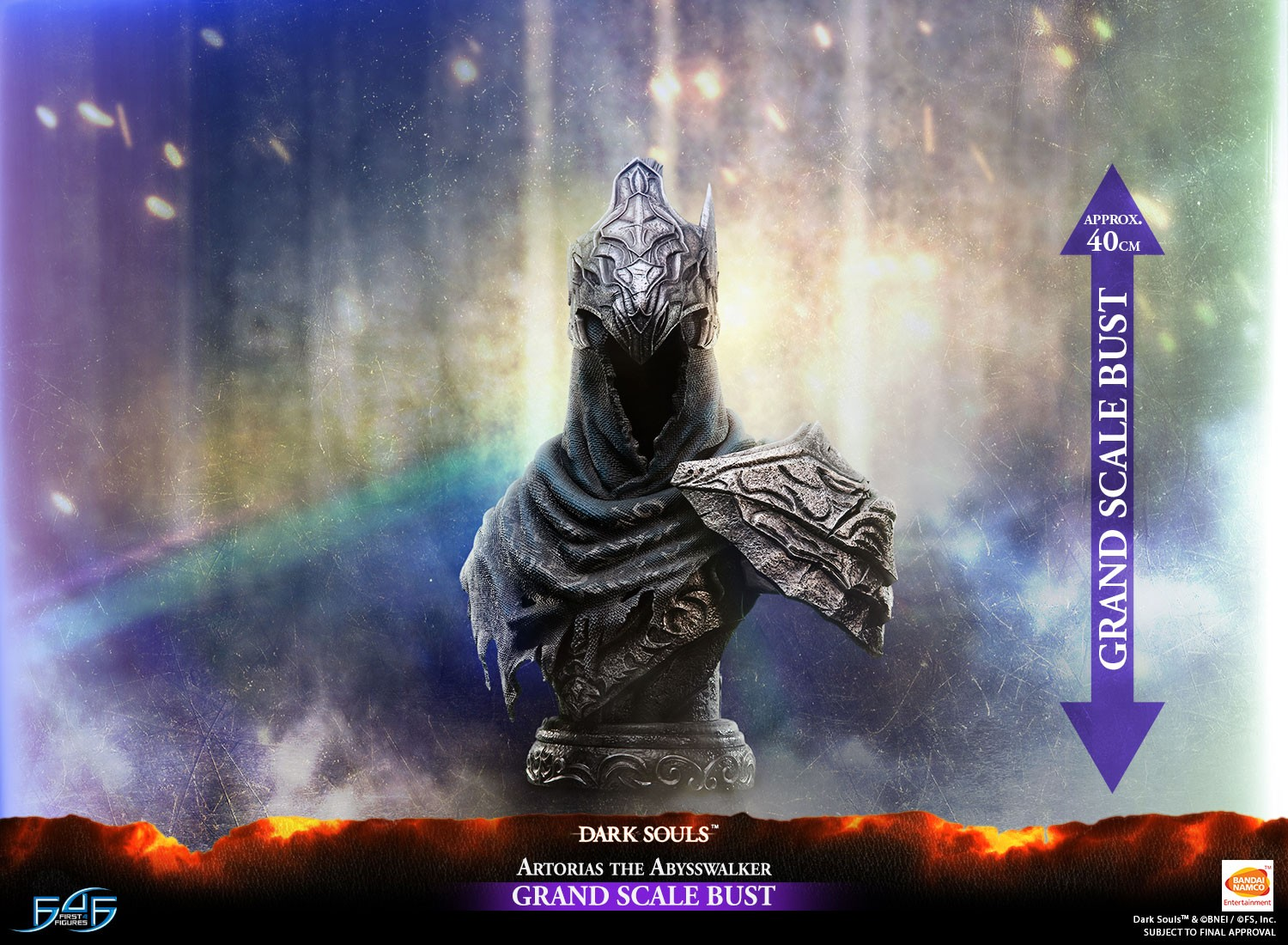 Dark Souls – Artorias the Abysswalker Grand Scale Bust Standard Edition