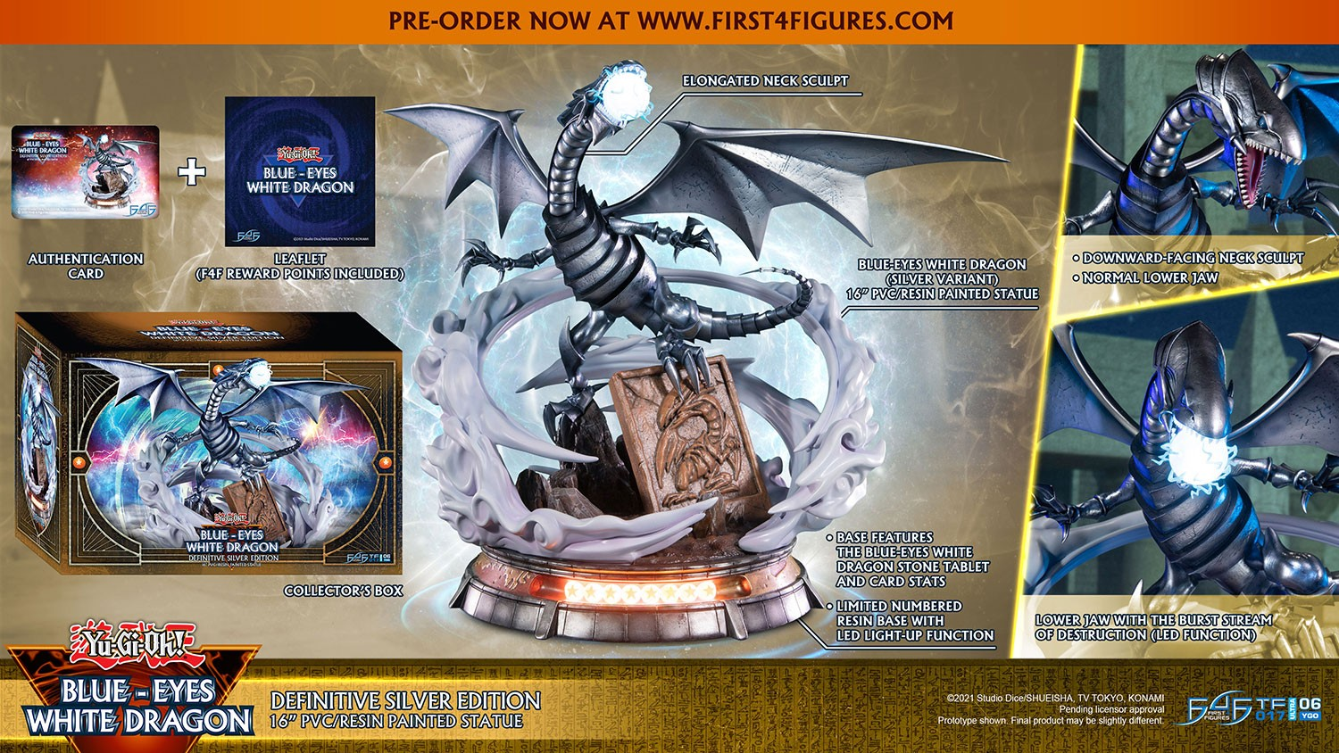 Yu-Gi-Oh! – Blue-Eyes White Dragon (Definitive Silver Edition)