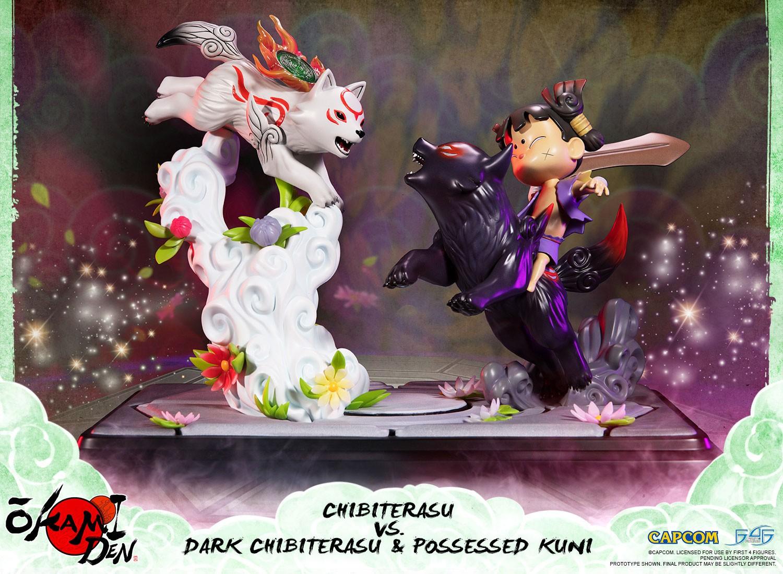 Okamiden – Chibiterasu vs. Dark Chibiterasu & Possessed Kuni (Standard Edition)