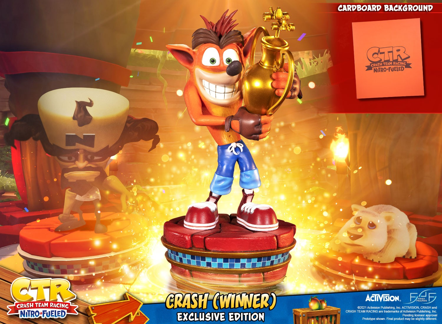 Crash Team Racing™ Nitro-Fueled – Crash (Winner) (Exclusive Edition)