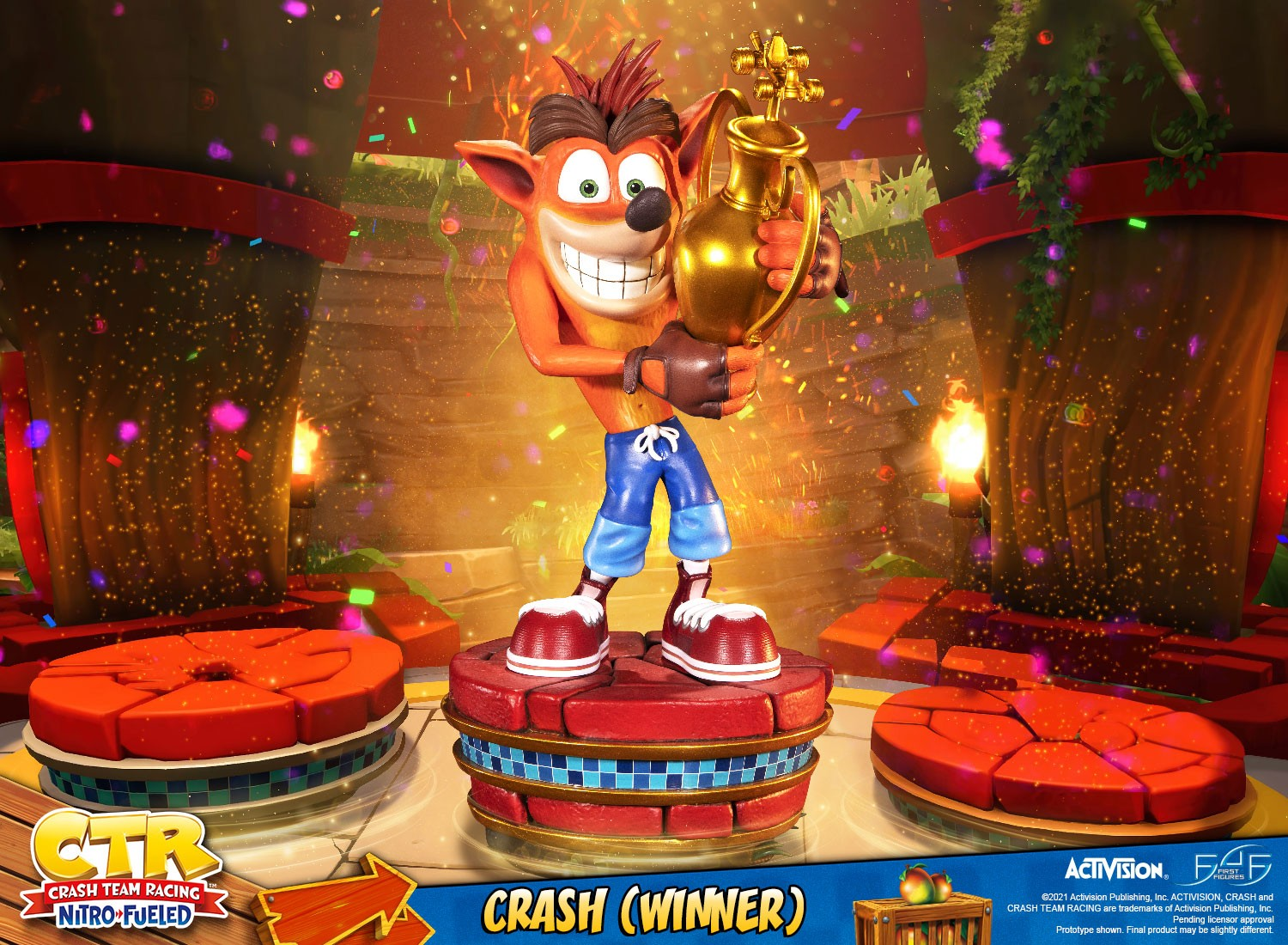 Crash Team Racing™ Nitro-Fueled – Crash (Winner) (Standard Edition)