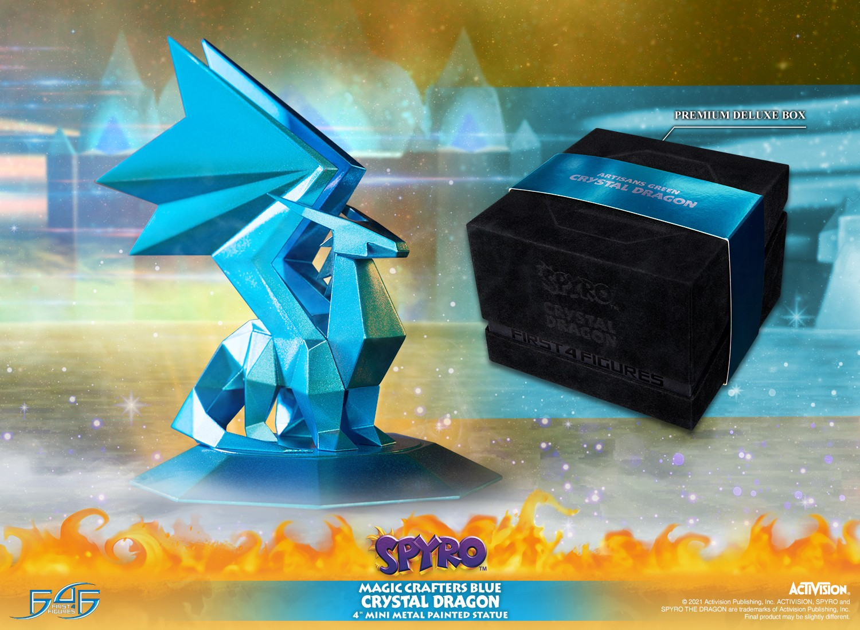 Spyro™ the Dragon - Magic Crafters Blue Crystal Dragon