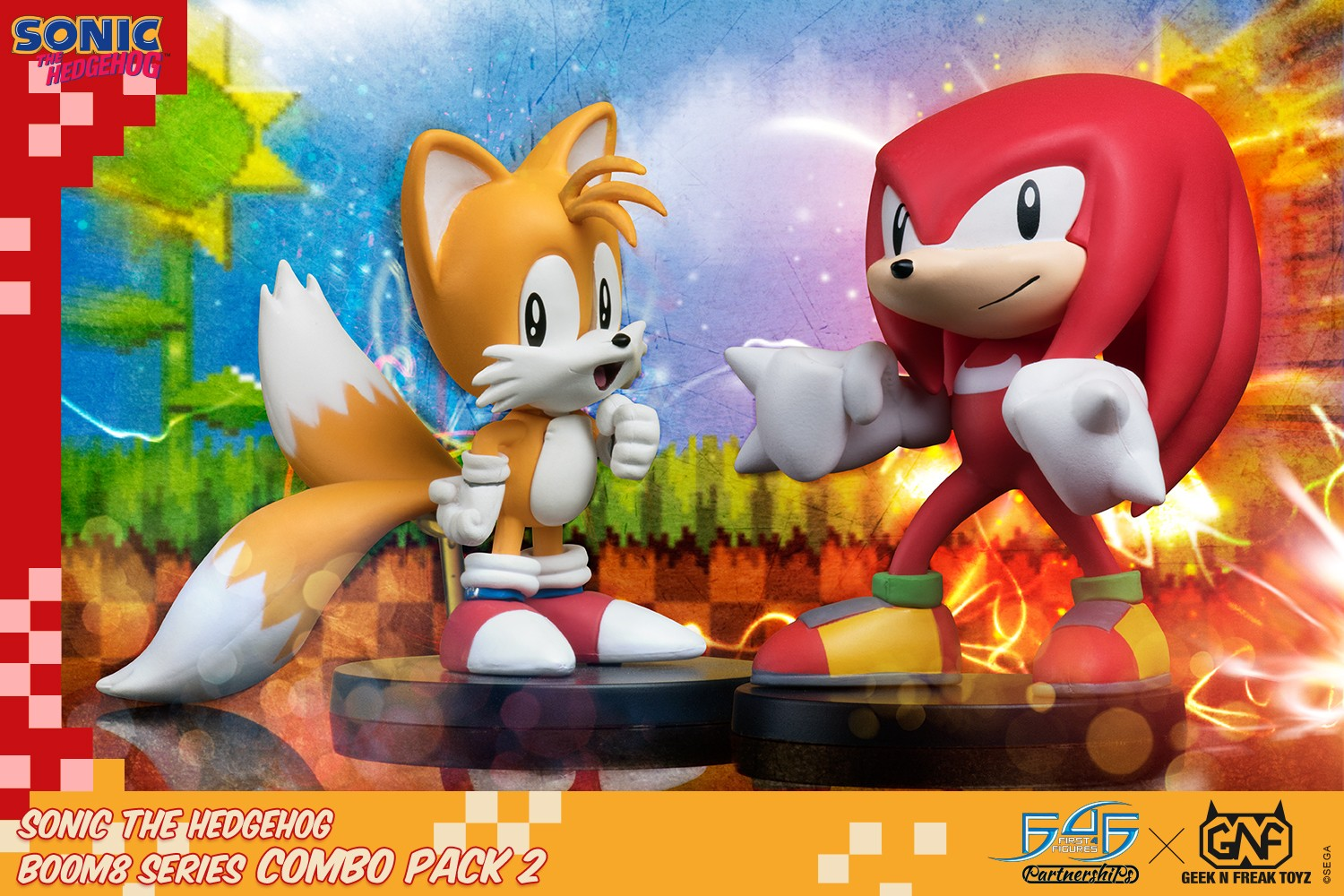 Sonic The Hedgehog Boom8 Series Combo Pack 2