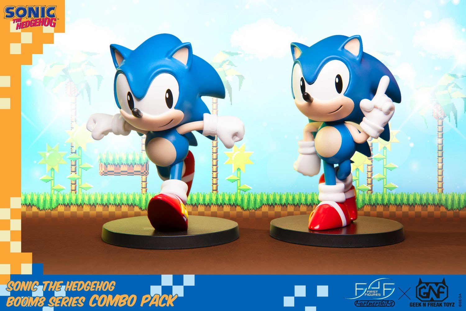 Sonic The Hedgehog Boom8 Series - Combo Pack