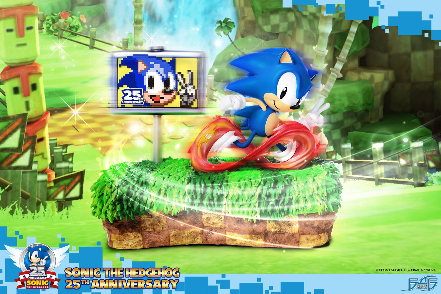 Sonic The Hedgehog 25th Anniversary (Regular)