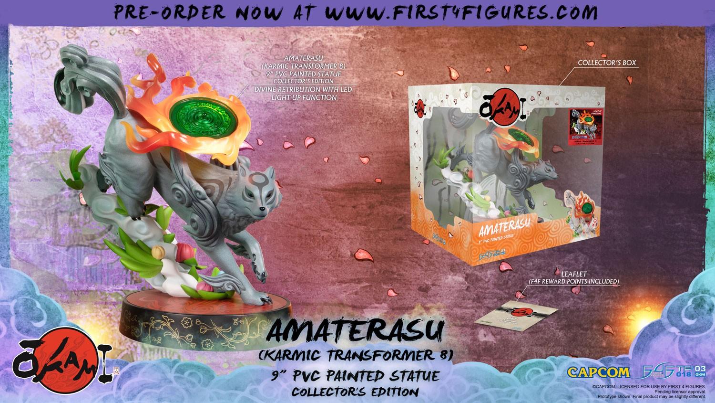Okami – Amaterasu PVC: Karmic Transformer 8 (Collector's Edition)