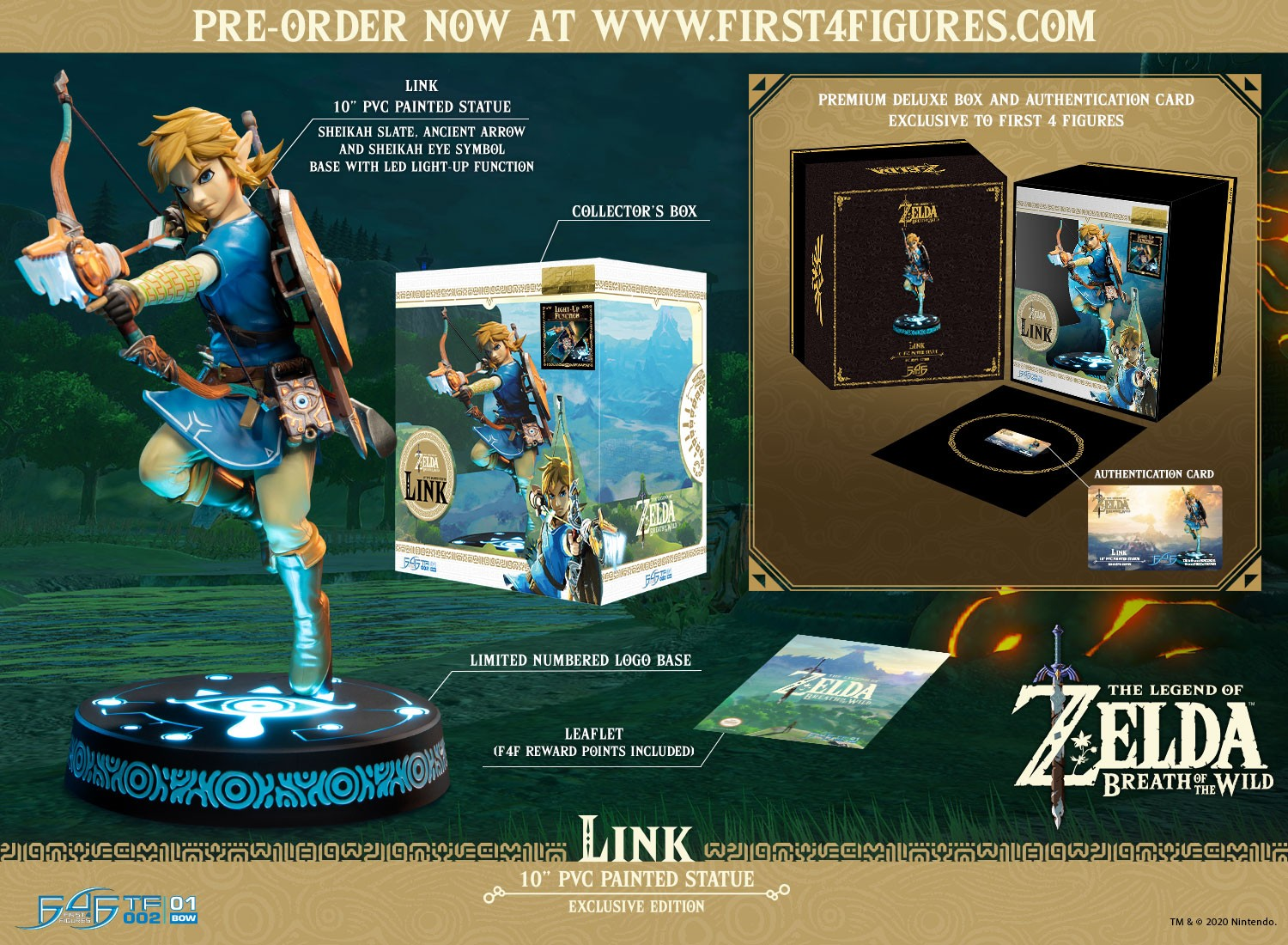 The Legend of Zelda™: Breath of the Wild – Link (Exclusive Edition)