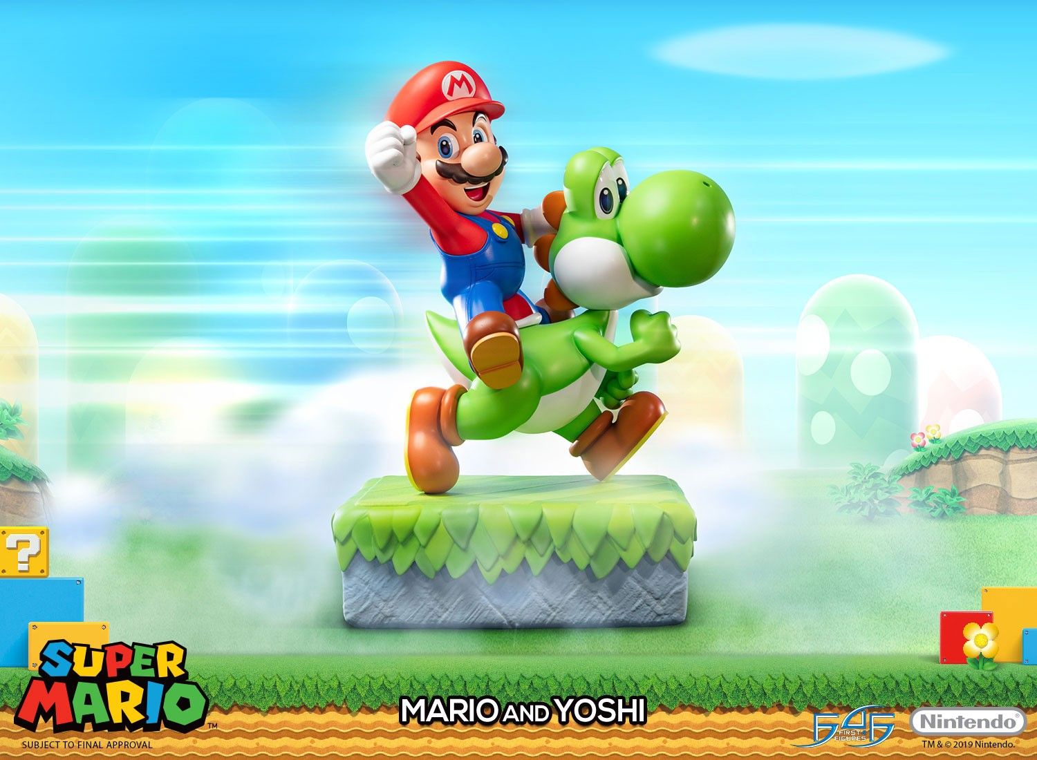 Super Mario – Mario and Yoshi Standard Edition