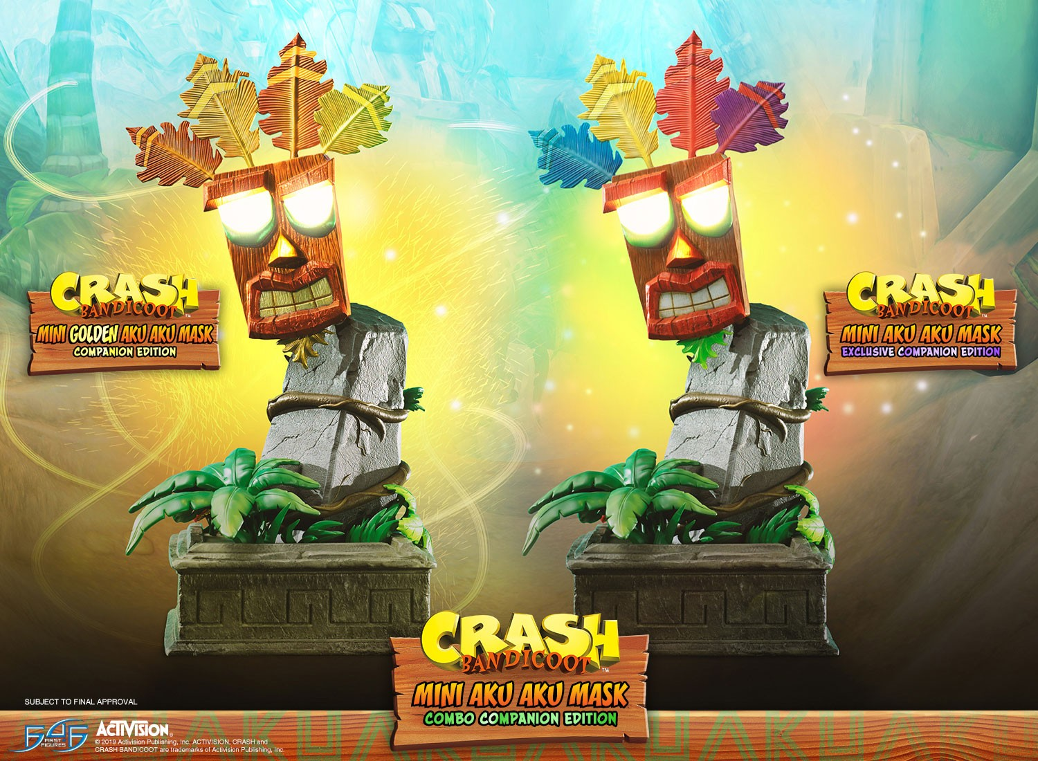 Crash Bandicoot™- Mini Aku Aku Mask Combo Companion Edition