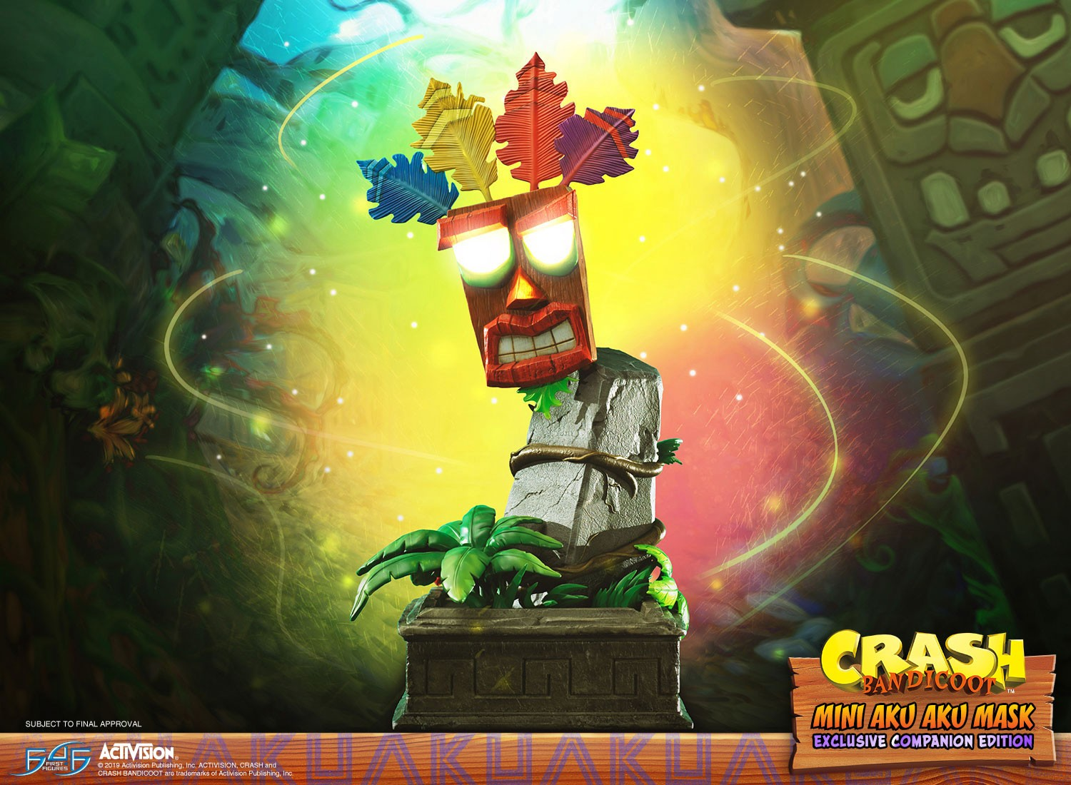 Crash Bandicoot™ - Mini Aku Aku Mask Exclusive Companion Edition