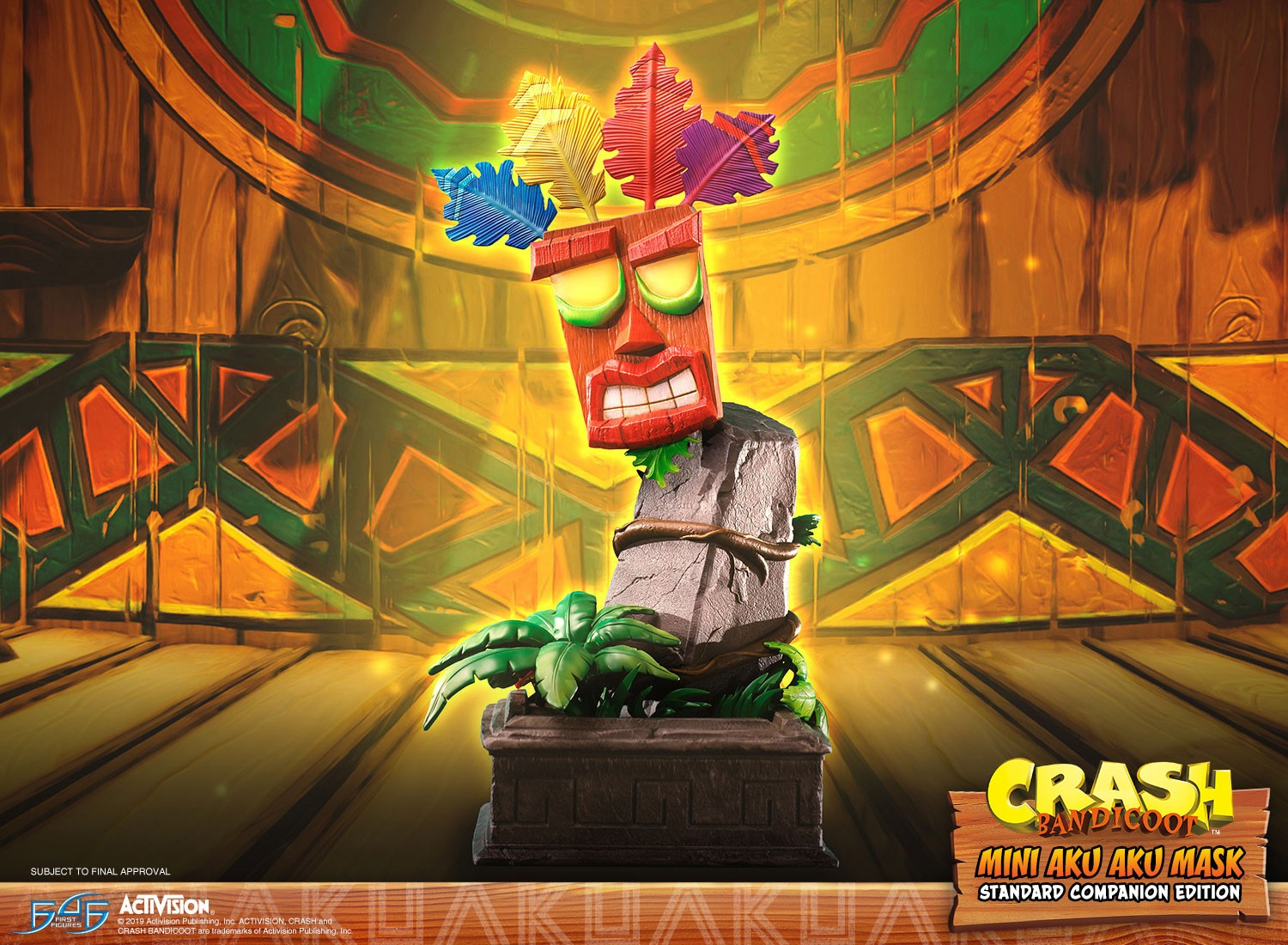 Crash Bandicoot™ - Mini Aku Aku Mask Standard Companion Edition