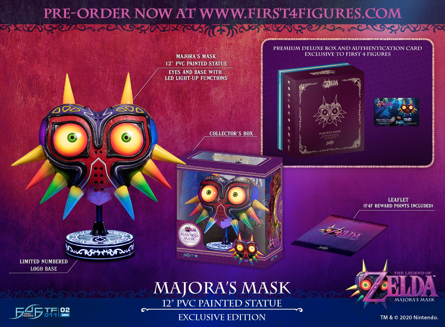 The Legend of Zelda™: Majora's Mask - Majora's Mask PVC (Exclusive Edition)