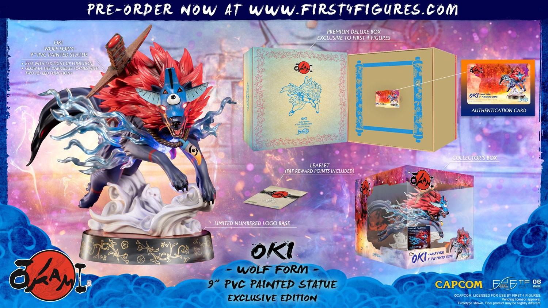 Okami – Oki (Wolf Form) PVC (Exclusive Edition)