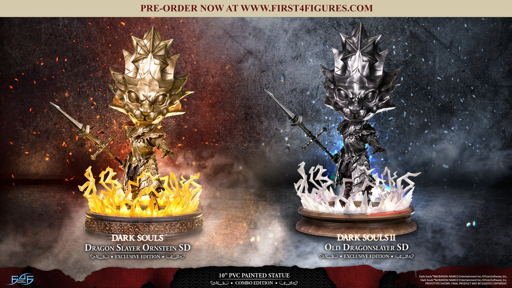 Dark Souls™ & Dark Souls™ II - Dragon Slayer Ornstein SD & Old Dragonslayer SD (Combo Edition)