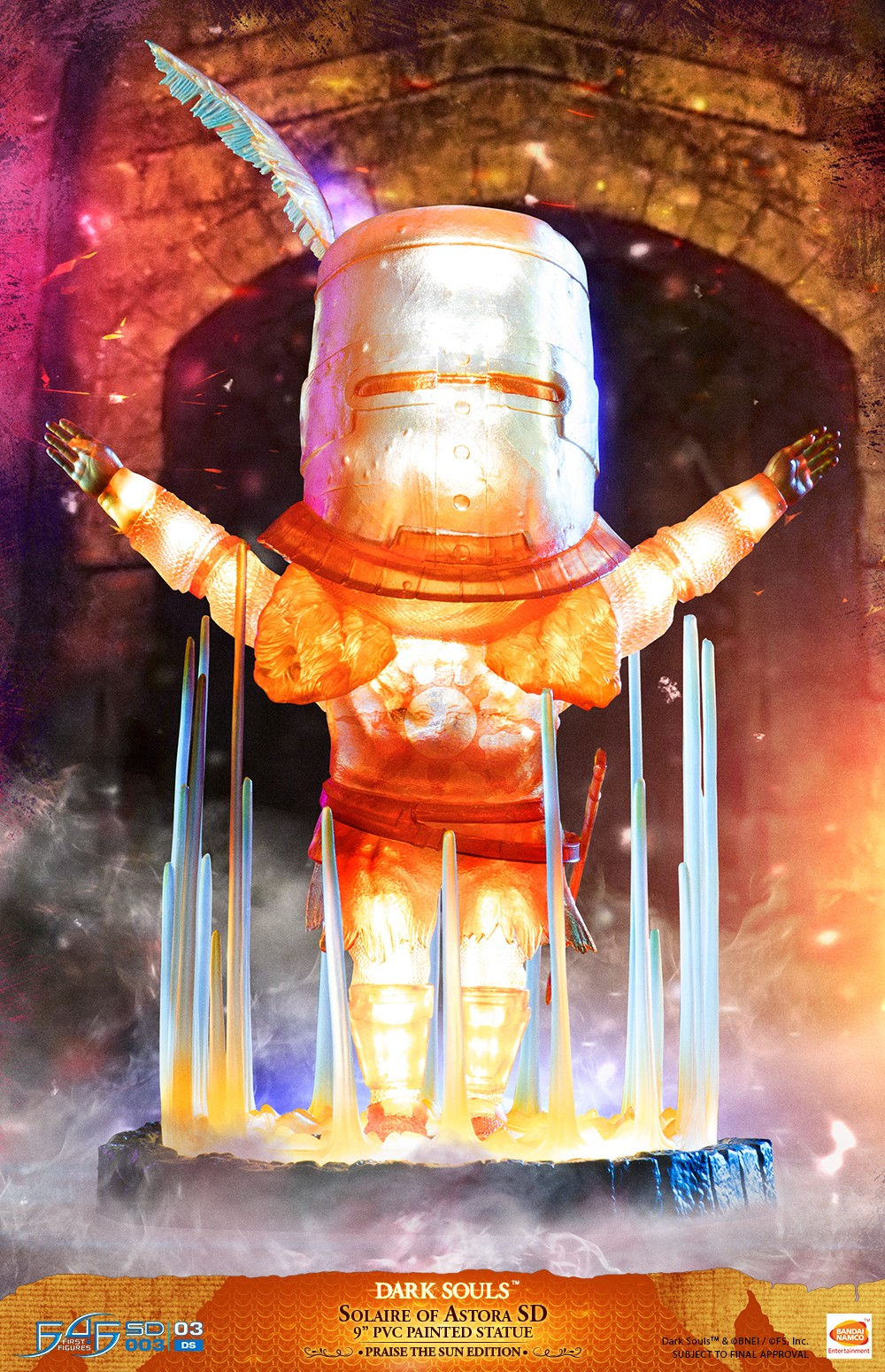 Solaire of Astora SD Praise the Sun Edition