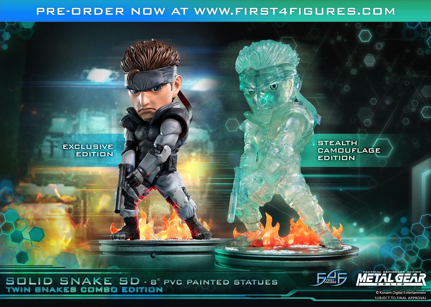 Solid Snake SD Twin Snakes Combo Edition