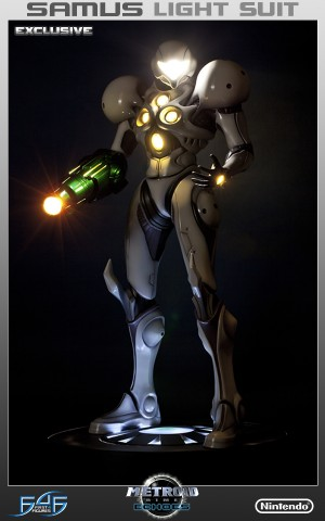 Samus Light Suit Exclusive