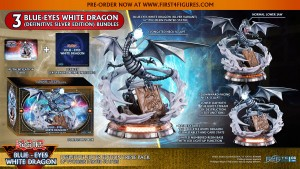 Yu-Gi-Oh! – Blue-Eyes White Dragon (Definitive Silver Edition Triple Pack)